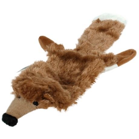 Hyper Pet Large Fox Critter Skinz Dog Toy