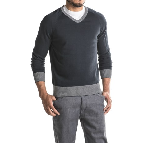 Jeremiah Nathan V-Neck Sweater (For Men)