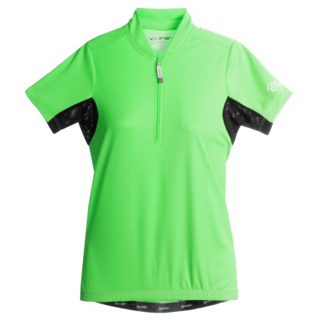 Canari Whisper Cycling Jersey - Short Sleeve (For Women)