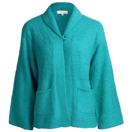 Paddi Murphy Marshmallow Soft Cardigan Sweater (For Women)