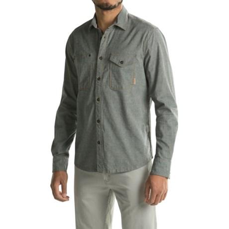 Jeremiah Fort Heavy Chambray Shirt - Long Sleeve (For Men)