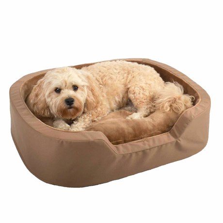 LA TI PAW La Ti Paw Rectangle Ortho Foam Dog Bed - 36x28""
