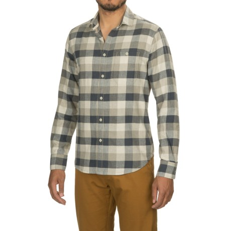 Jeremiah Reid Flecked Twill Shirt - Long Sleeve (For Men)