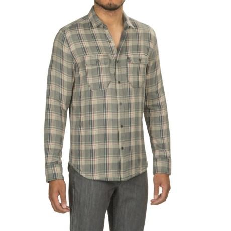 Jeremiah Melville Reversible Plaid Shirt - Snap Front, Long Sleeve (For Men)