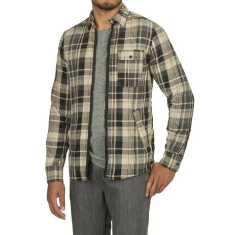 Jeremiah Fargo Jaspe Brawny Twill Shirt Jacket - Zip Front (For Men)