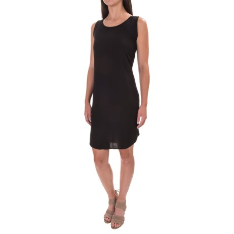 Adrienne Vittadini Knit-Back Dress - Rayon, Sleeveless (For Women)