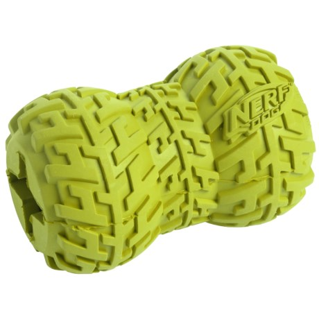 Nerf Dog Tire Treat Feeder Dog Toy - Medium