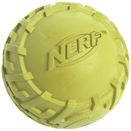 Nerf Dog Tire Squeaker Ball Dog Toy - Medium