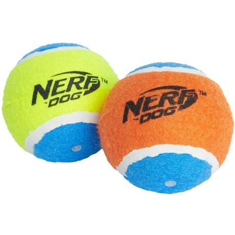 Nerf Dog Squeak Tennis Balls - 2-Pack