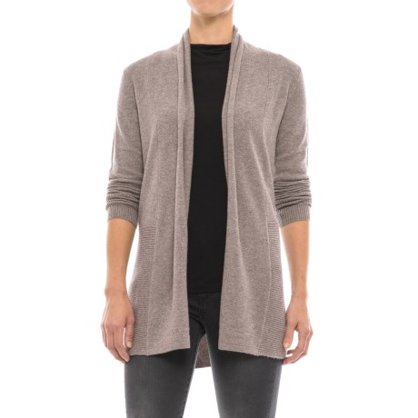 Tahari Open-Front Cashmere Cardigan Sweater (For Women)