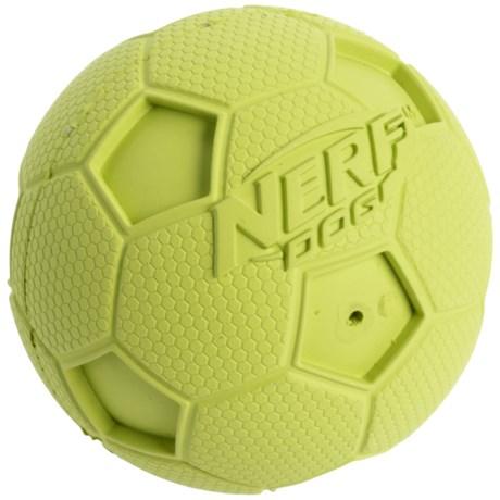 Nerf Dog Squeaky Soccer Ball Dog Toy - Medium