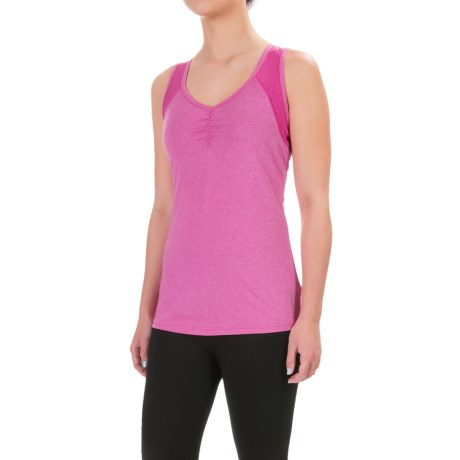 Head Perforated Tank Top (For Women)
