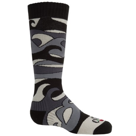 Hot Chillys Surf Midweight Ski Socks - Over the Calf (For Little and Big Kids)