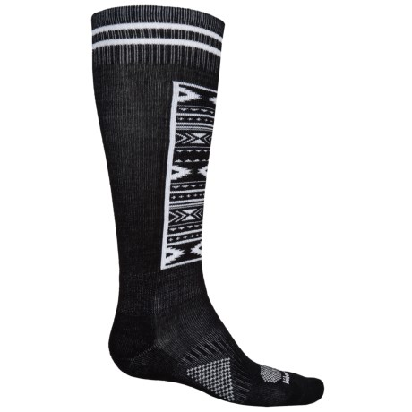 Le Bent Definitive Snowboard Socks - Over the Calf (For Men and Women)