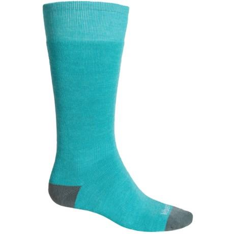 Le Bent Alpha Full-Cushion Ski Socks - Rayon-Merino Wool, Over the Calf (For Men and Women)