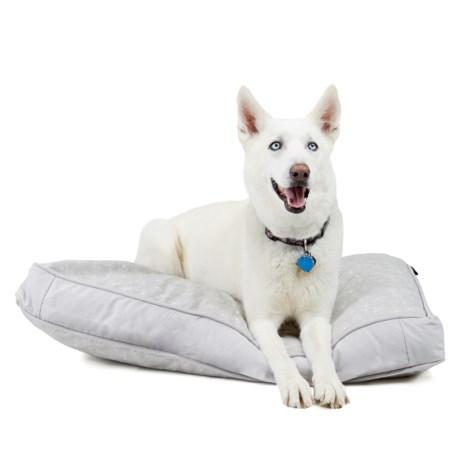 "Live Love Bark Teepee Dog Rectangle Dog Bed - Large, 36x27"""