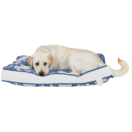 """Humane Society Dogs In Hats Rectangle Dog Bed - XL, 28x40"""""""