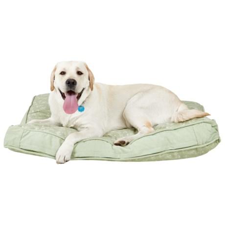 "Live Love Bark Teepee Dog Rectangle Dog Bed - XL, 27x40"""