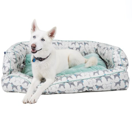 Humane Society Dogs in Hats Bolster Dog Bed - 2XL, 29x43""