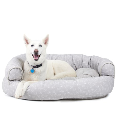 Live Love Bark Teepee Round Couch Dog Bed - XL, 48x36""