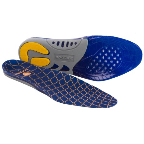 Sof Sole Gel Support Insoles (For Men)