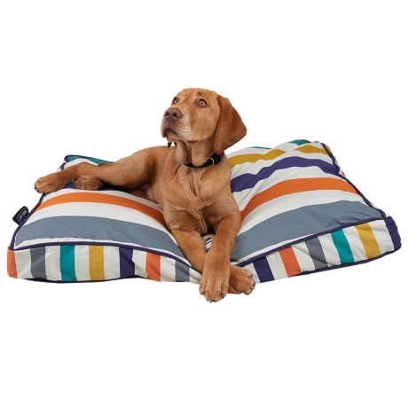 """Reese & Riley Eat Play Sleep Repeat Rectangle Dog Bed - Large, 36x27"""""""
