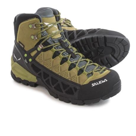 Salewa Alp Flow Mid Gore-Tex® Boots - Waterproof (For Men)