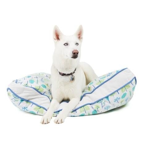 Sigrid Olsen Forest Geo Rectangle Dog Bed - XL