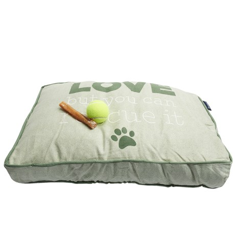 Humane Society Rescue Dog Rectangle Dog Bed - Medium, 28x19""