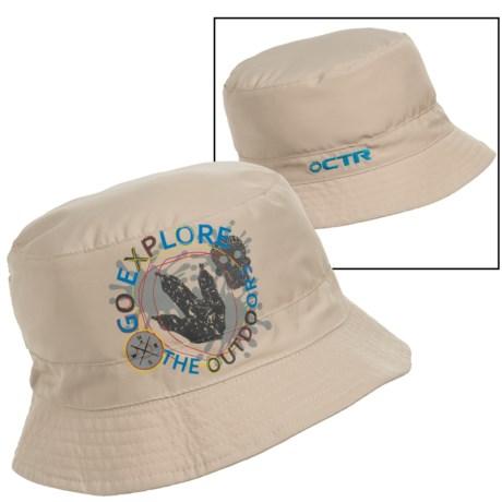 CTR Summit Sunshower Bucket Hat - UPF 50+ (For Kids)
