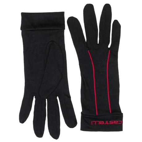 Castelli Liner Cycling Gloves - Full Finger (For Men)