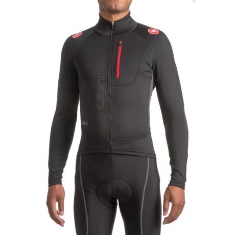 Castelli Trasparente 3 Windstopper® Cycling Jersey - Full Zip, Long Sleeve (For Men)