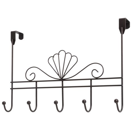 Vanderbilt Home Over-the-Door Bronze Hanger - 5 Hooks