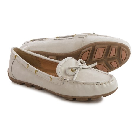 White Mountain Sunbathe Moccasins - Leather (For Women)