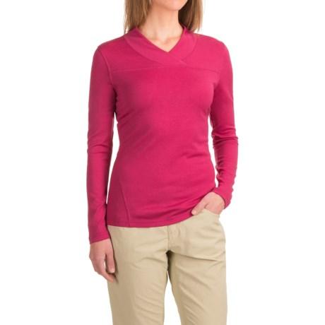 Mountain Khakis Rendezvous Micro Wrap Neck Shirt - Merino Wool, Long Sleeve (For Women)