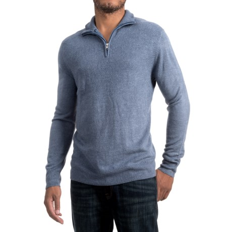 Specially made Zip Neck Sweater (For Men)