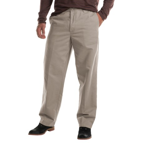 Specially made Flat-Front Chino Pants (For Men)