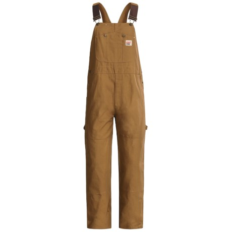 Work King 10 oz. Duck Bib Overalls - Unlined (For Men)