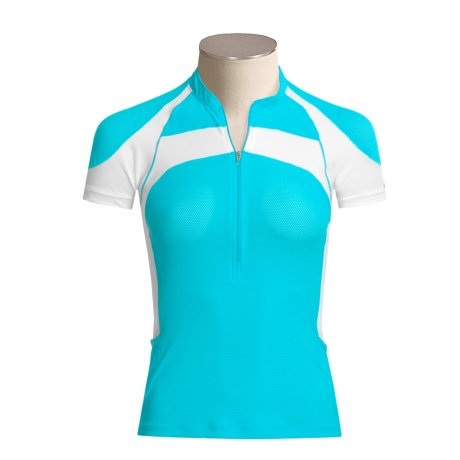 Zoot Sports TRIfit Mesh Jersey Shirt - Short Sleeve (For Women)