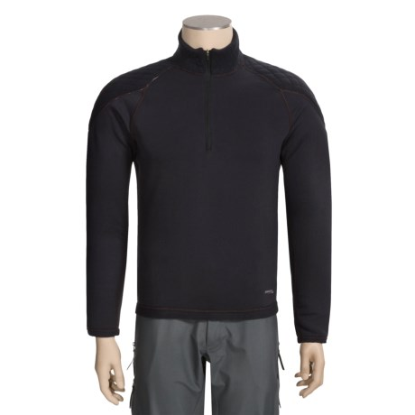 Komperdell XA-10 Thermo Fleece Base Layer Top - Zip Neck, Midweight, Long Sleeve (For Men)