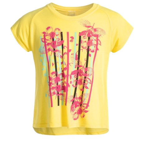 Gracie by Soybu Graphic Relaxed T-Shirt - Short Sleeve (For Little and Big Girls)
