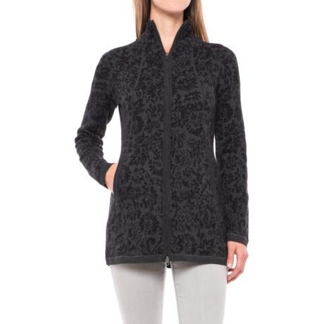 Cynthia Rowley Double-Knit Cardigan Sweater - Full Zip (For Women)