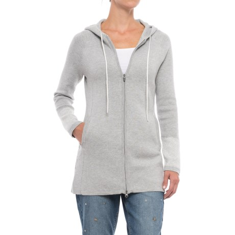 Cynthia Rowley Hooded Cardigan Sweater (For Women)