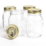 Bormioli Rocco Quattro Stagioni Canning Jars - 17 oz., Set of 4