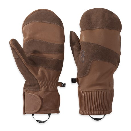 Outdoor Research Rivet Mittens - Leather (For Men)