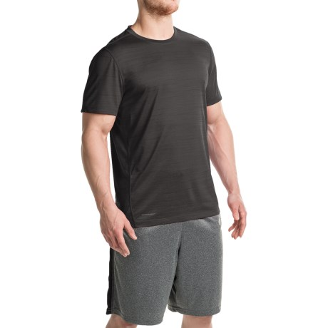 Layer 8 Space-Dyed Heather T-Shirt - Crew Neck, Short Sleeve (For Men)