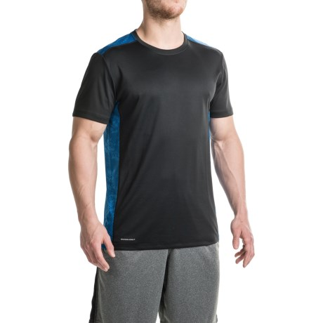 Layer 8 Printed Training T-Shirt - Short Sleeve (For Men)