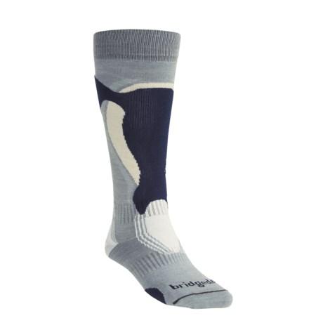 Bridgedale Control Fit Ski Socks - Lightweight, Wool (For Men and Women)