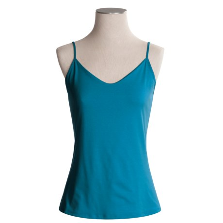 Spooney Wear Ever Camisole - Double-Layer Panel, V-Neck (For Women)