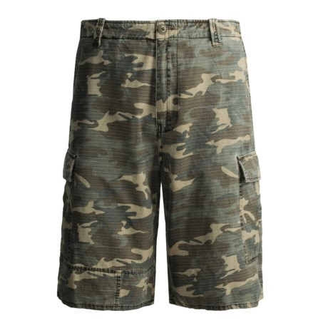 Grizzly Dylan Shorts - Cotton Rip Stop, Enzyme Washed (For Men)